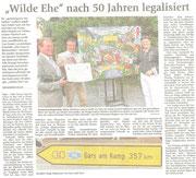 Matthias Laurenz Gräff. Pressebericht im Oberbayrischen Volksblatt (und OVB 0nline) für Wasserburg am Inn (Bayern, Deutschland) (17. Juli)