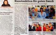 Matthias Laurenz Gräff. Bericht in den Bezirksblättern Horn (Woche 36)