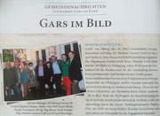 Bericht in den Garser Gemeindenachrichten (Ausgabe Nr 2, Sommer 2018)