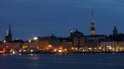 Stockholm um Mitternacht