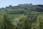 1. zäher Anstieg nach St. Leonhard am Walde