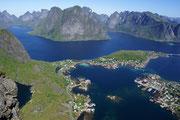 Norwegen - Lofoten - Reinebringen