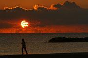 Morgens am Strand von San Benedetto (I)