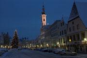 Morgenspaziergang am Stadtplatz