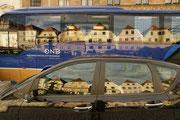 Eurobus am Stadtplatz