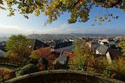 Blick vom Taborfriedhof Richtung Wieserfeldplatz