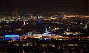 The night in the city  -  Linz vom Pöstlingberg