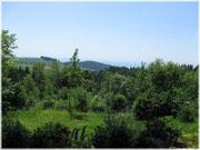 Aussicht vom Berggasthaus