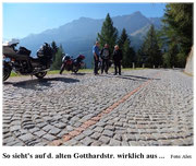 D.alte Gotthardt - Pflaster