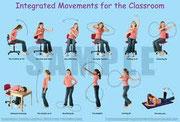 integrierte Bewegungen