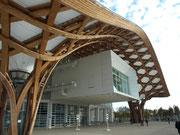 Le centre Pompidou de Metz.