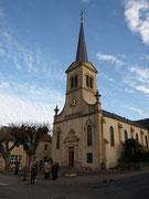 L'église de Vigy.
