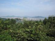展望台からの眺め(今津方面を望む)