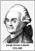 Joseph Jérôme Lefrançois de Lalande
