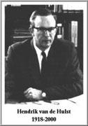 Hendrik Christoffel van de Hulst