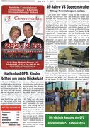 Bezirkszeitung 21. Bezirk Jänner 2015 40 Jahre Volksschule Dopschstraße