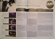 """Zeitschrift """"Tanzschritt"""" 2. Ausgabe 2015"""