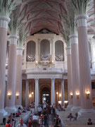 Ein Blick in die Nikolaikirche
