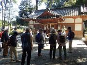外山区にある高市皇子の創建と伝わる「宗像神社」