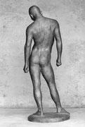 「若い男・1 」               H.175x70x50cm/FRP/1984