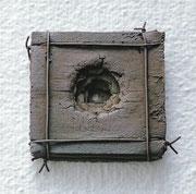 """Face - 5 layers  (K-53)""             t.1x10x10cm/bronze/1991"