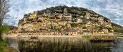 La Roque Gageac - Dordogne / Périgord Noir/ France / 150 Mpix Tirage possible jusqu'à 1,6 m x 0,67 m à 300 dpi