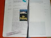 Der Eintrag ist fertig - Mein Lieblingsbuch Die Prüfung von F. Paul Wilson