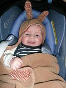 Das Foto ist vom 15.04. Hier ist er also genau 3 Monate alt.