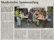 Freikonzert Gerstel 30.06.2011