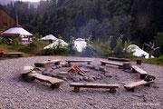 Lagerfeuer-Platz