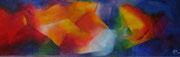 Titel: Fiish Materiaal: Alcyd/Olie Afmeting: 120cm x 40cm