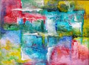 Titel: Favela Materiaal: Acryl fmeting: 40cm x 30cm