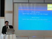 Herr Martin Gropper von Siemens Audiologische Technik GmbH für die Hörwerkstatt