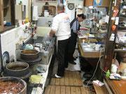 年季の入った清潔な台所
