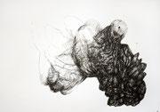 061216, Sepia Federzeichnung, 42x59,4 cm