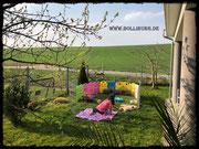 Das schöne Wetter zieht uns immer wieder in den Garten 08.04.2020