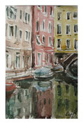 Colorful Venice  /  Bunte Venedig   31,5x20,5  2013
