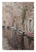 Corner of old Venice  /  Ecke des alten Venedig   37x24,5  2012