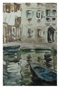 Evening in Venice II  /  Abend in Venedig II   30x19,5  20112