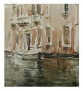 Venetian sketch III  /  Venezianischen Skizze III   24,5x21,5  2012