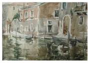 Venetian landscape II  /  Venezianische Landschaft II   23,5x34  2012
