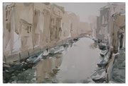Morning in Venice  /  Morgen in Venedig    24,5x36,5  2011
