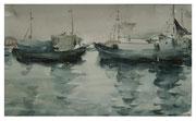 Ships  /  Schiffe  21x35cm  2006