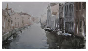 Morning in Venice  /  Morgen in Venedig   21x36 2011