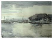 Sea mood  /  Meer Stimmung   38x52cm   2008