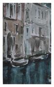 Outskirts of Venice  /  Stadtrand von Venedig   35,5x20,5  2008