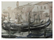 Venice. On Canal Grande  /  Venedig.  Am Canal Grande    27,5x37,5  2008
