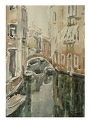Sunny day. Venezia  /  Sonniger Tag. Venezia 34x24 12