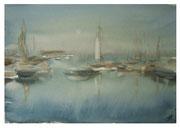Sea haze  /  Meer Dunst    26,5x36,5cm  2009