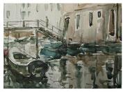 Crannies of Venice  /  Gassen von Venedig    23,5x32 2012